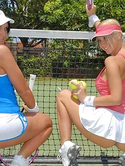 Kim and molly fuck after a game of tennis in these amzing pics and video